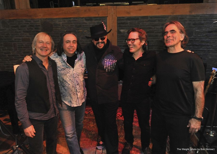 Martin Grebb, center, seen here with The Weight, died earlier this week, according to the band's Facebook page. Grebb, a Chicago musician, is best known for his early years in The Buckinghams and for his longtime role in Bonnie Raitt's band.