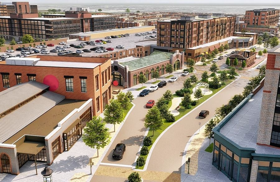 Work on The District -- a residential, retail, dining and entertainment area of the overall Veridian development on the former Motorola Solutions campus in Schaumburg -- is expected to see some early momentum in 2020.