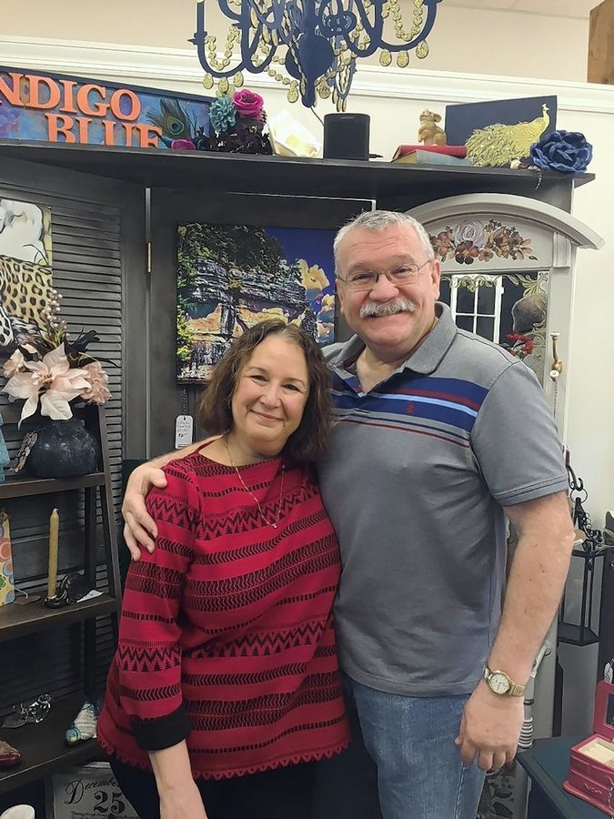 "Tom Freeman and his wife, Bridget Johnson, said ""let's do it"" when they saw an open storefront at 6 W. Wilson St. in downtown Batavia. The result: Red Hive Market, a home decor artisan gallery that opened on Nov. 30."