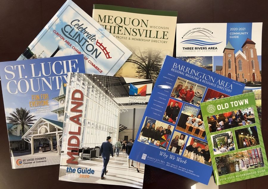 Town Square Publications in Arlington Heights produces guides for chambers of commerce throughout the country.