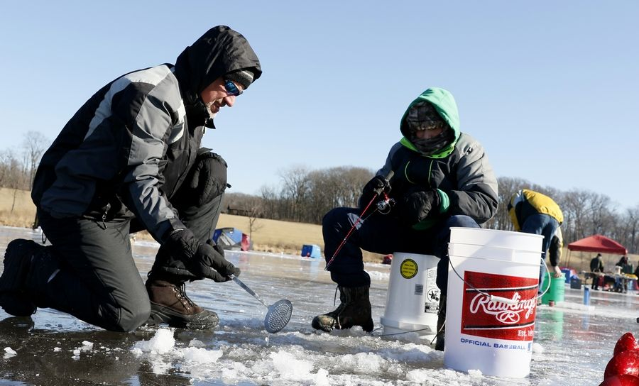 Warm weather and a lack of ice has forced the Forest Preserve District of DuPage County to delay its Hard Water Classic ice-fishing contest until next month.