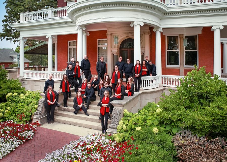 Cor Cantiamo, a professional 24-voice touring choral ensemble in residence at Northern Illinois University, will perform on Sunday, Jan. 26, at Christ Church Oak Brook.