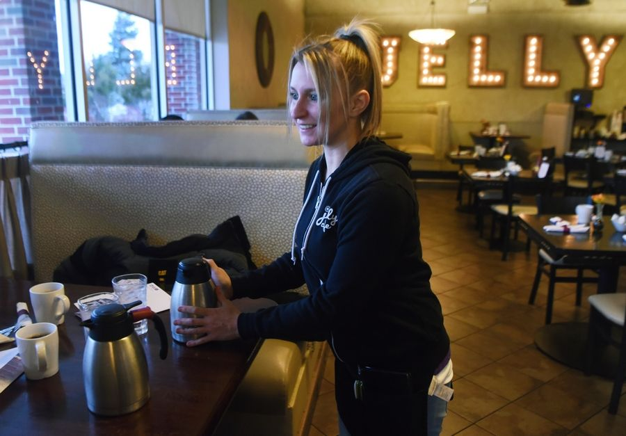 "Nikki Formanski, a waitress at Jelly Cafe in Mount Prospect, says she's thankful to one of her customers for leaving a $2,020 tip earlier this week. ""It is a huge blessing,"" she said."