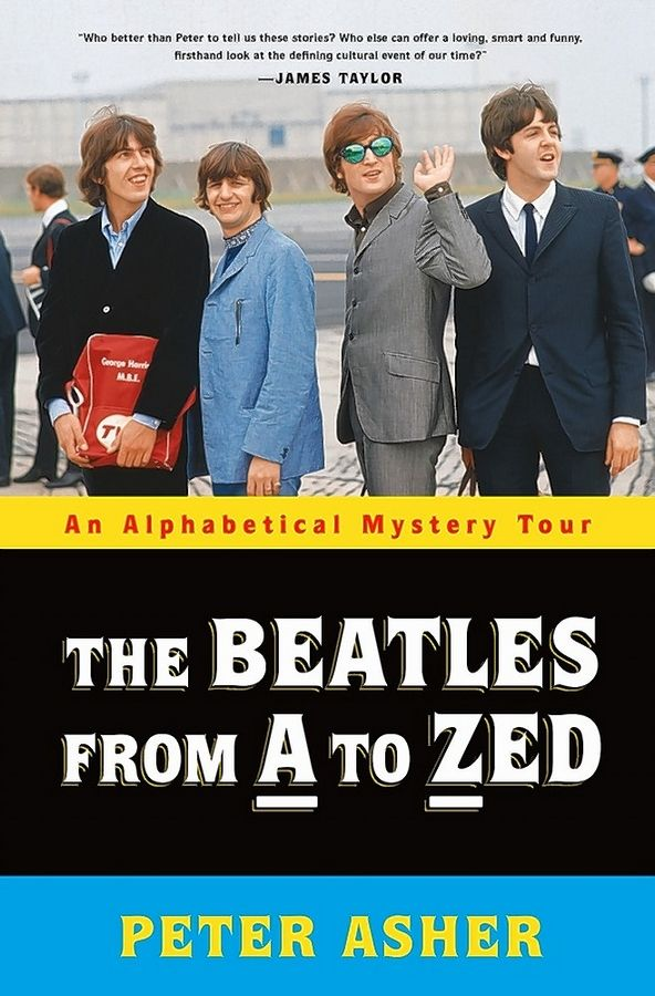 "Author Peter Asher discusses his book ""The Beatles: From A to Zed"" at Anderson's Bookshop in Naperville on Wednesday, Jan. 15."