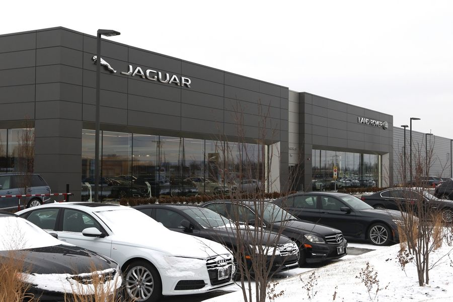 The Zeigler Automotive Group announced Monday it is buying the Jaguar Land Rover dealership in Schaumburg and two more dealerships along Golf Road in Schaumburg and Hoffman Estates from Motor Werks Auto Group.