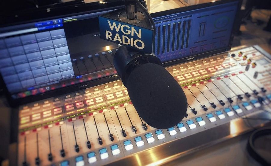 WGN 720-AM abruptly severed its longstanding partnership with Crain's Chicago Business Monday over a story that speculated on a possible sale of the Nexstar Media Group news/talk station.