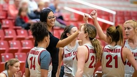 Crystal Lake South alum Chanel Fanter is playing for head coach Corry Irvin, a Larkin graduate, on a Saint Xavier team that won 16 of their first 19 games.
