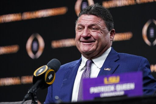 Coach O National Champ Lsu Ready To Win More Titles