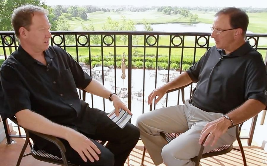 "After 10 years as co-hosts of ""The Scorecard on The Score,"" Ed Sherman and Steve Olken are stepping down from the weekly golf talk show on Entercom sports/talk WSCR 670-AM."