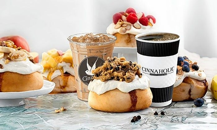 Cinnaholic opens its first Chicago location in Naperville on Friday, Jan. 17.