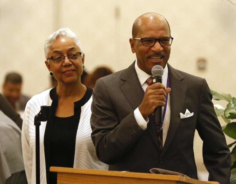 The Rev. James Miller, pictured here with his wife, Rev. Lana Miller of the DuPage AME Church in Lisle, will be the keynote speaker Monday at the 30th annual DuPage County celebration and observance of Martin Luther King Day.