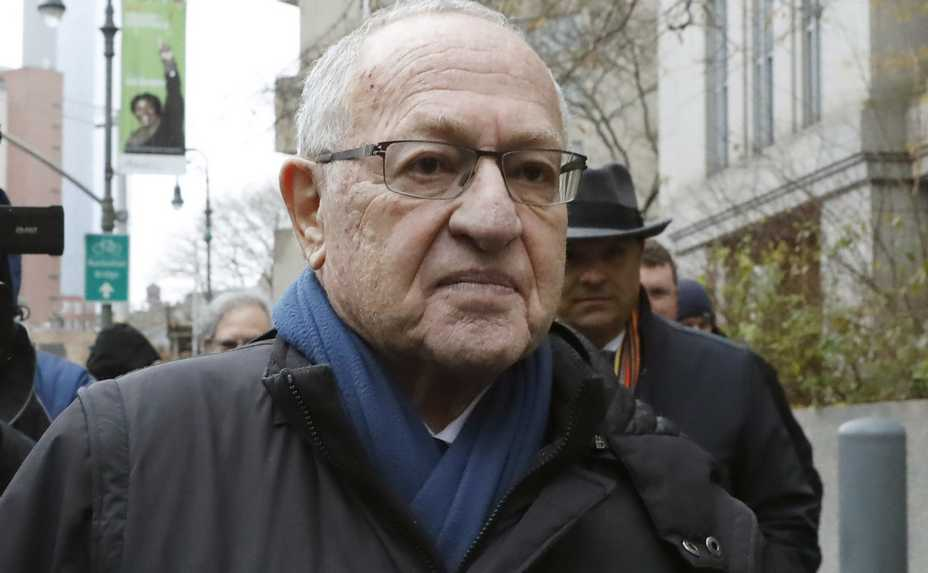 FILE — In this Dec. 2, 2019 file photo, Attorney Alan Dershowitz leaves federal court, in New York. President Donald Trump's legal team will include former Harvard University law professor Alan Dershowitz and Ken Starr, the former independent counsel who led the Whitewater investigation into President Bill Clinton, according to a person familiar with the matter. The team will also include Pam Bondi, the former Florida attorney general.