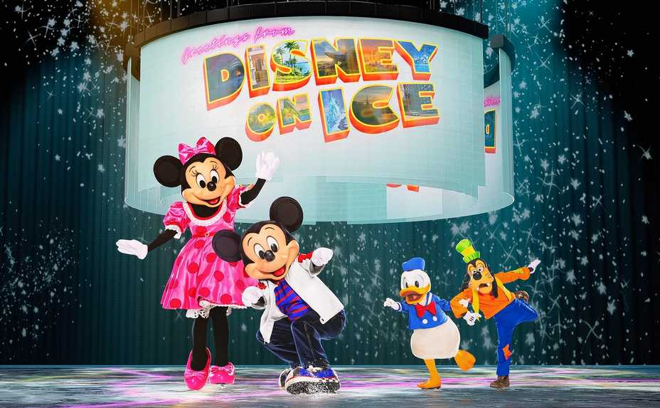 """Disney On Ice: Road Trip Adventures"" tours to both the Allstate Arena in Rosemont and the United Center in Chicago."