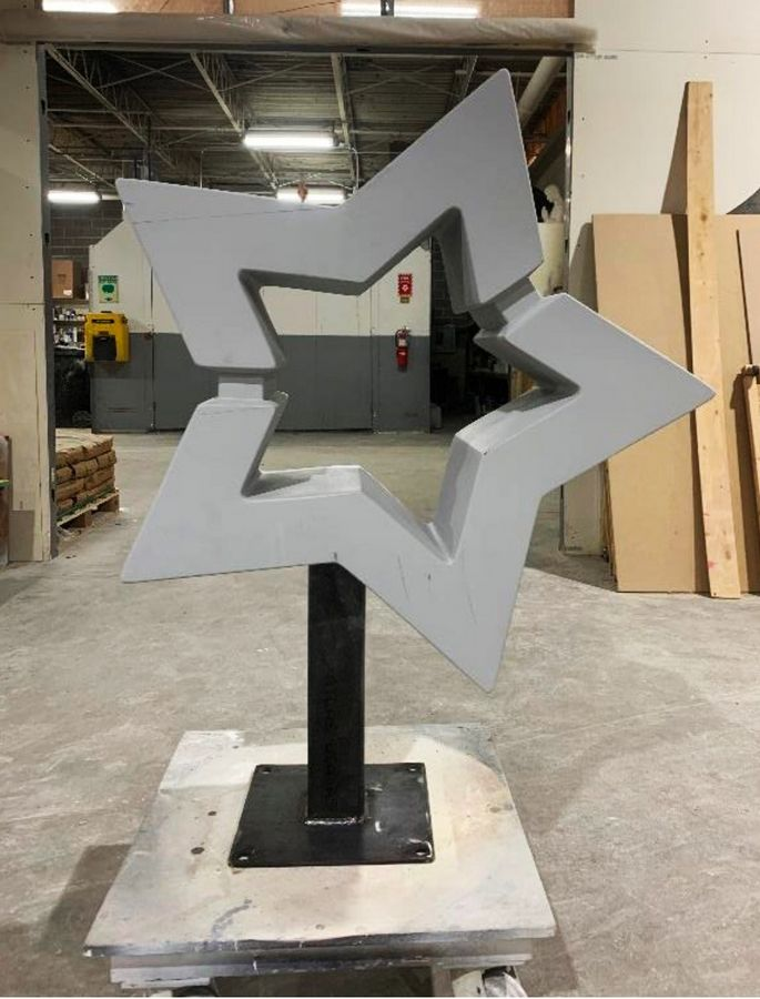 Mundelein's latest public arts project will feature 15 fiberglass stars that replicate the village logo. They'll be painted or otherwise decorated and put on display in the downtown area this summer.