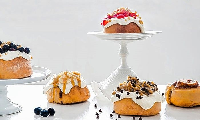 Cinnaholic opens its Schaumburg location Friday, Jan. 24, offering $1 cinnamon rolls from 10 a.m. to 2 p.m.