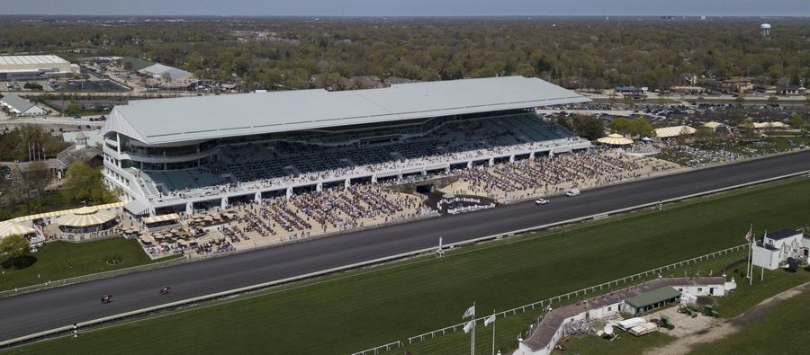 Arlington Park race track officials said Tuesday they have not received anything like an offer to buy the track.