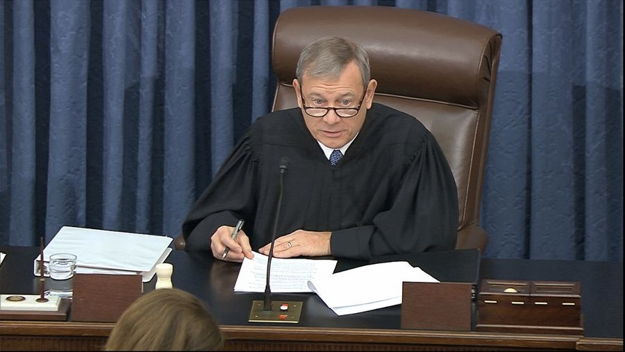 "Supreme Court Chief Justice John Roberts, the presiding officer of the impeachment trial against President Donald Trump, had to scold both sides Tuesday. ""It is appropriate for me to admonish both the House managers and the president's counsel in equal terms to remember that they are addressing the world's greatest deliberative body,"" Roberts said."