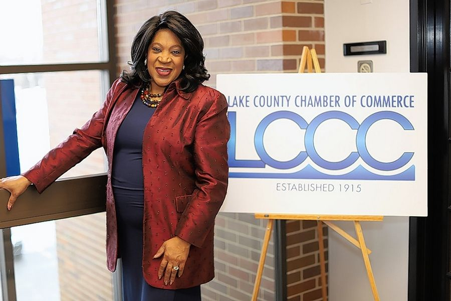 Shaunese Teamer is back as the executive director of the Lake County Chamber of Commerce, a position she held from 2011 to 2013.
