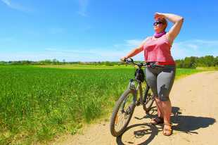 Two women are leading an effort to make cycling more inviting to people of all sizes. They hope to expand the acceptance of heavier cyclists on roads and trails and in people's minds.