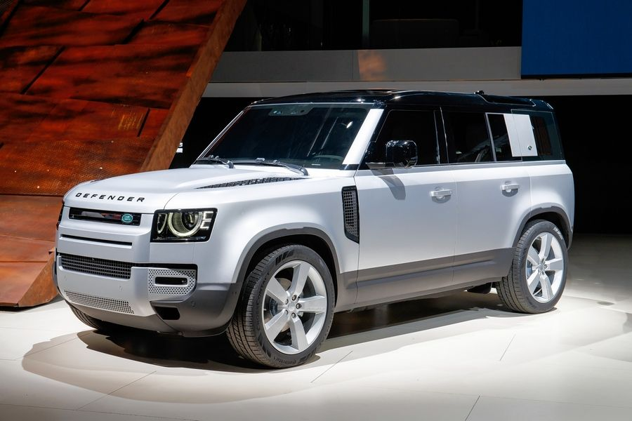 The Land Rover Defender crossover is one of several new cars making their debut at the Chicago Auto Show.