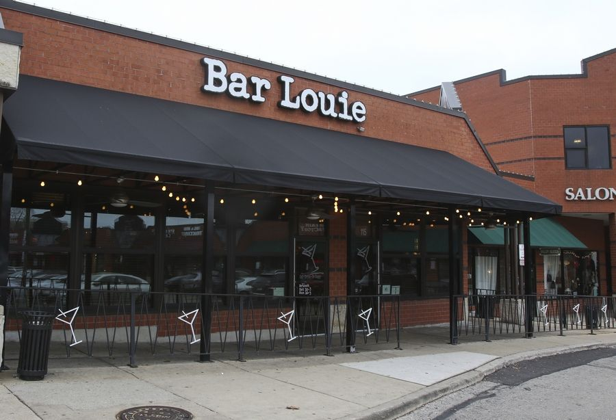 Bar Louie at 22 E. Chicago Ave. in downtown Naperville closed over the weekend, officials said, making it one of 38 in the chain to shut its doors as part of a bankruptcy filing.