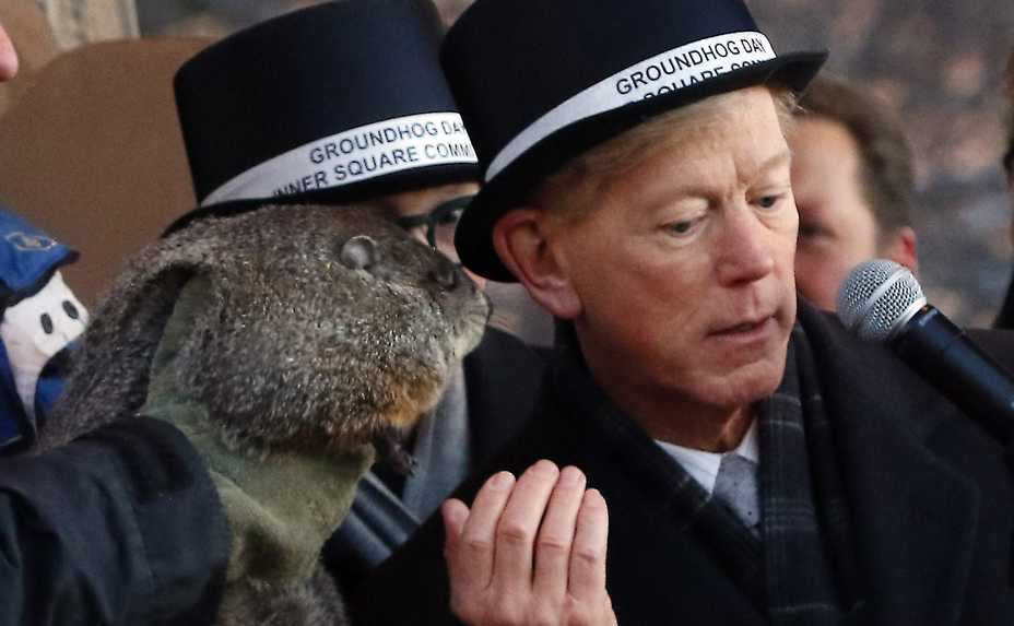 Woodstock Mayor Brian Sager will share Woodstock Willie's prognostication on Sunday, Feb. 2, as part of the city's Groundhog Days festival.