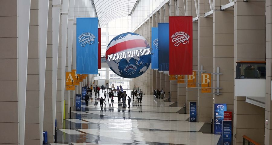 The Chicago Auto Show is back and opens to the public Saturday at McCormick Place in Chicago. The show runs through Feb. 17.