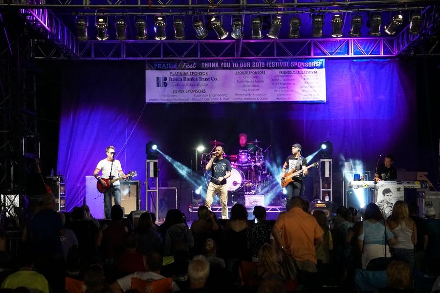 Prairie Fest returns July 23-26 with musical entertainment, carnival, food and more.