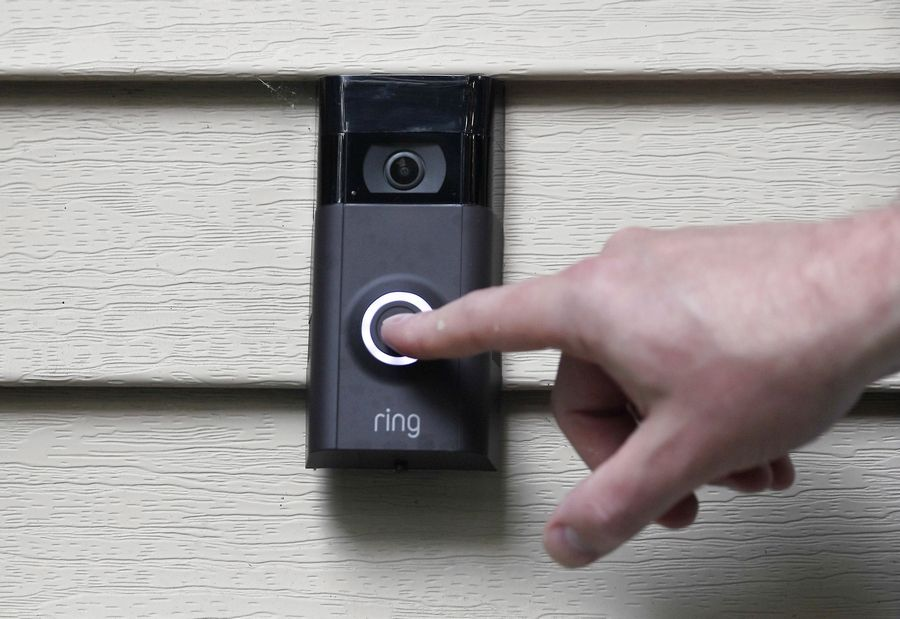 As suburban police tout the crime-fighting benefits of striking deals for access to video from Amazon's Ring doorbell cameras, several critics, including a prominent civil-rights organization, are raising concerns about privacy.