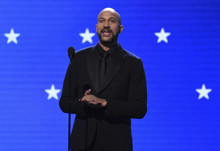 Keegan-Michael Key presents the lifetime achievement award at the 25th annual Critics' Choice Awards on Sunday, Jan. 12, 2020, in Santa Monica, Calif.