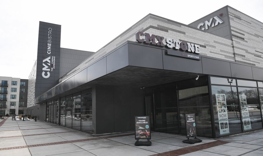 The CMX CinéBistro Wheeling is set to open Friday in Wheeling Town Center. The luxury movie theater covers 40,000 square feet.