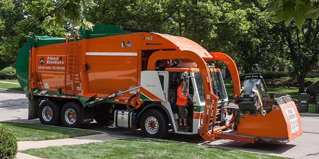 Flood Brothers Disposal will be the new waste hauling vendor in Roselle starting April 1.