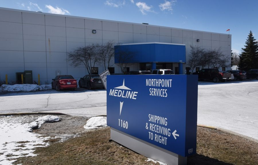 Medline Industries in Waukegan is testing new equipment before operations using ethylene oxide are allowed to resume.