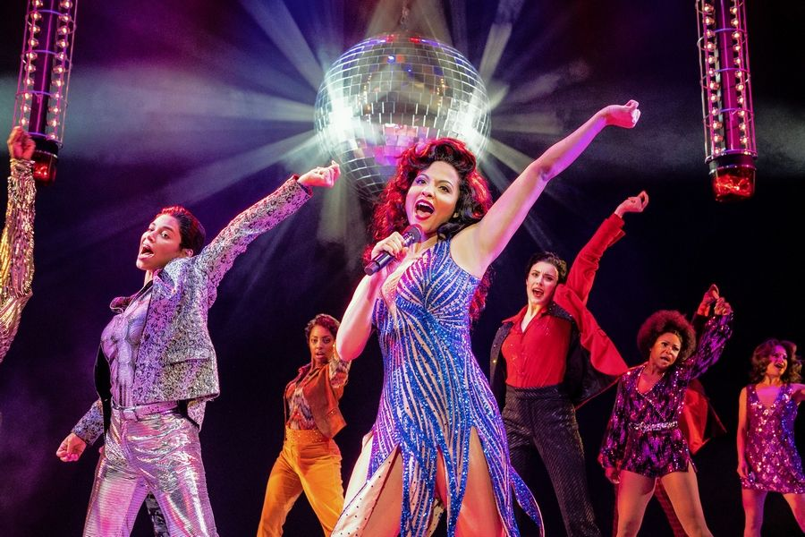 "Alex Hairston makes her Chicago debut playing ""Disco Donna"" in the national tour of ""Summer: The Donna Summer Musical"" at the James M. Nederlander Theatre from Wednesday, Feb. 12, through Sunday, Feb. 23."