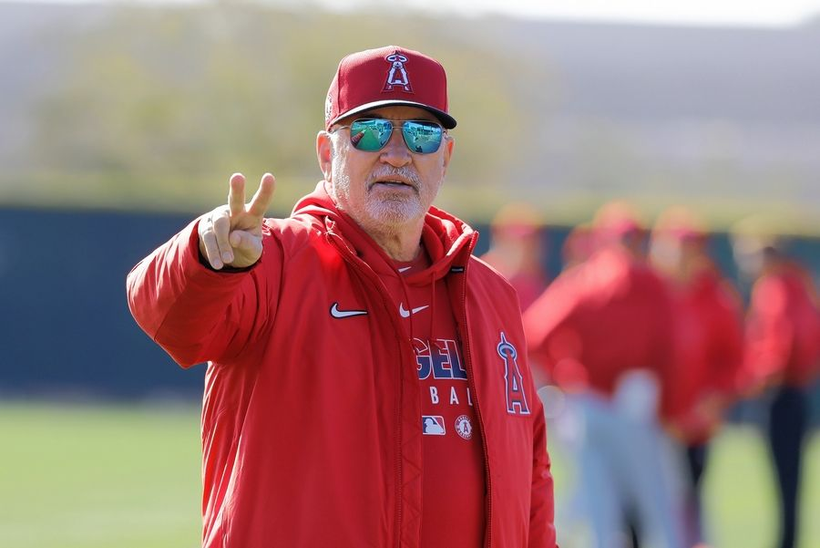Los Angeles Angels manager Joe Maddon wasn't too happy about his departure from the Cubs.