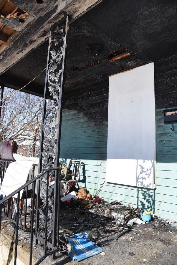 A Friday morning fire in a house on the 600 block of North Liberty Street in Elgin injured one person and caused an estimated $150,000 in damage.