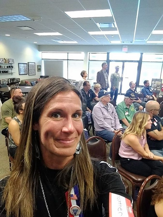 Commitment2Community founder Heather Kuziel started the group in 2018 as a way to connect veterans recently returning from war.