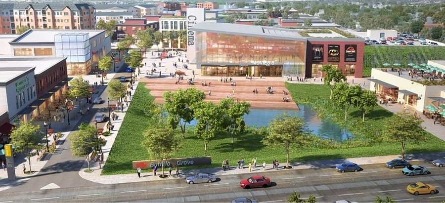 Buffalo Grove's Lake-Cook Corridor plan envisions new retail, entertainment and other commercial developments in the 472-acrea area. Officials this week will consider steps toward creating a Tax Increment Financing district they believe could spark that redevelopment.
