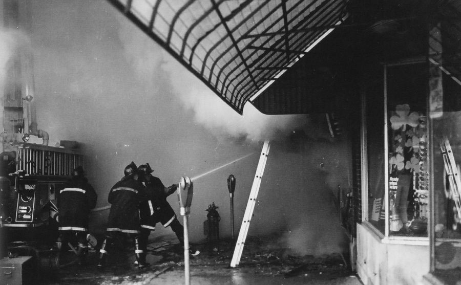 The Palatine Fire Department will host a ceremony Sunday morning honoring three firefighters who died during a 1973 blaze at the Ben Franklin store in the village's downtown.