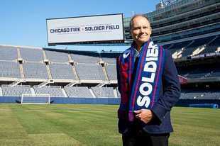 Chicago Fire owner Joe Mansueto has moved his team to Soldier Field and its televised games to WGN.