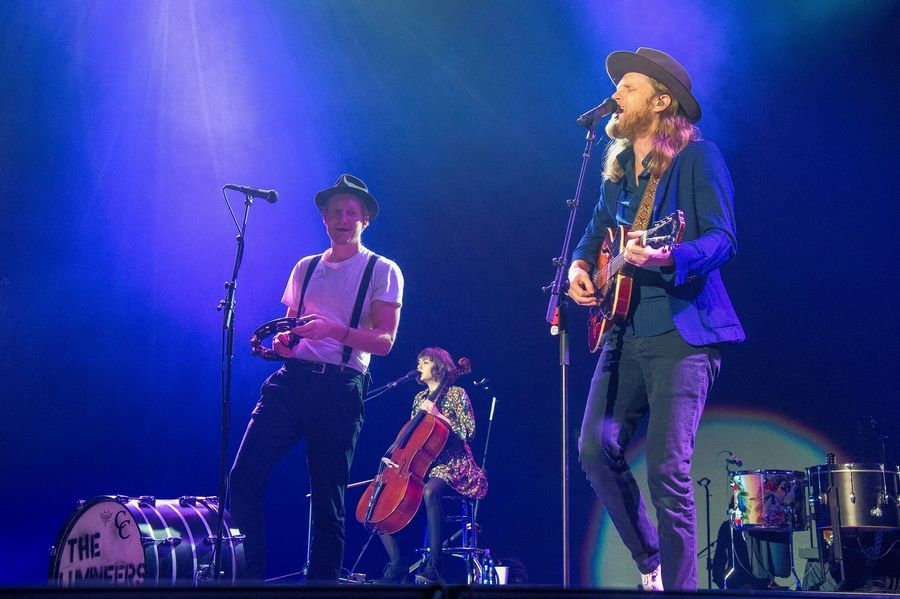 Fans can catch The Lumineers at the Allstate Arena in Rosemont on Friday and Saturday, Feb. 21 and 22.