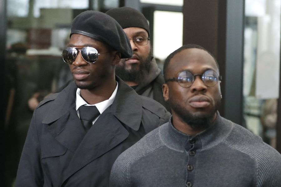Abimbola Osundairo, right, with his brother Olabinjo, are potential prosecution witnesses in the case actor Jussie Smollett, who's accused of paying the siblings to stage an attack on him. Abimbola will be part of the National Italian American Sports Hall of Fame's Night at the Fights amateur boxing tournament fundraiser Thursday in Elk Grove Village.
