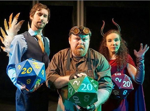 "On Saturdays, Feb. 29 and March 7, Out On a Whim will put on ""Improvised Dungeons & Dragons"" at the Geneva Park District's Playhouse 38 Theater."