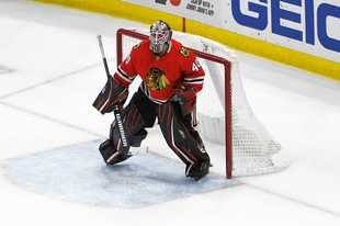 In Robin Lehner's first interview as a member of the Vegas Golden Knights on Thursday, the former Blackhawks goalie expressed frustrations with how he was utilized at times in Chicago.