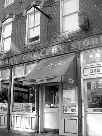 "To qualify as a Chicago ""neighborhood"" back in the day, there had to be a corner grocery store within a six-block radius."