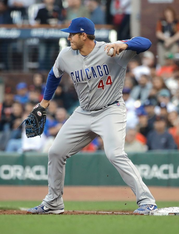 Entering his ninth season with the Chicago Cubs, Anthony Rizzo has been a productive hitter and a Gold Glove first baseman. He's also been an unquestioned leader.