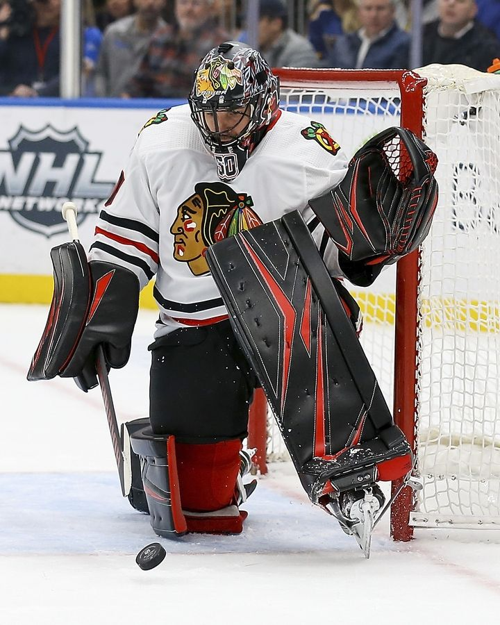 Corey Crawford Likes The New View From Top Perch