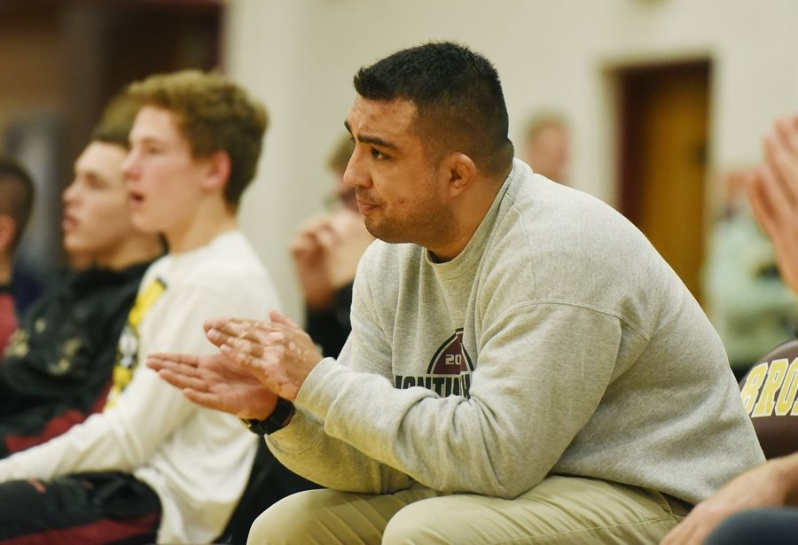 Montini Catholic High School officials are not talking about the future of wrestling coach Israel Martinez, who did not coach his team at the dual team state tournament last Saturday for undisclosed reasons.