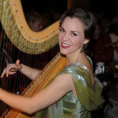 "Janelle Lake, principal harpist with the Elmhurst Symphony Orchestra, will offer an evening of music at the ""Fashionable FUNdraiser"" event on Thursday, March 19."