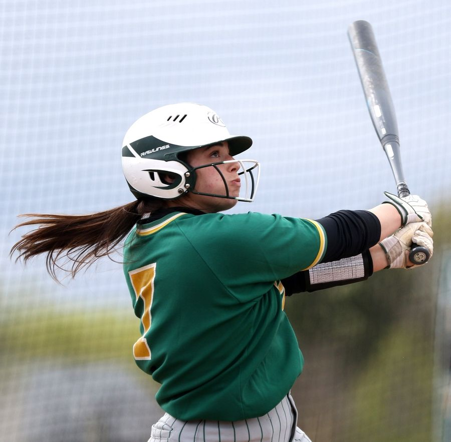 Brooke Kuffel is one of the top returning players for a Crystal Lake South team that went 31-3 last year.